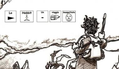 """Il papà che ha tradotto """"Lo Hobbit"""" in simboli per la figlia disabile"""