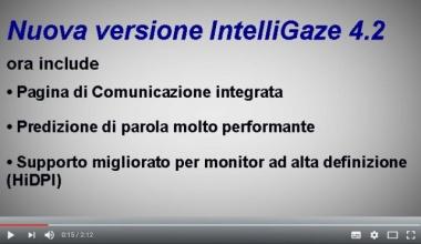IntelliGaze 4.2 novità principali -- EASYeyes